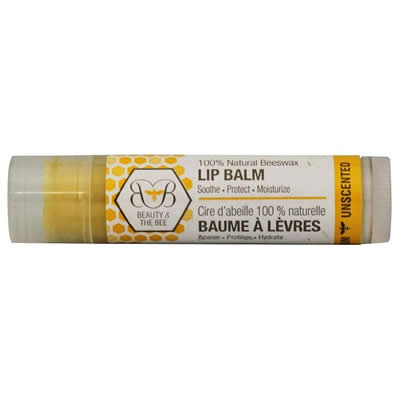 Beauty & the Bee Lip Balm - Unscented