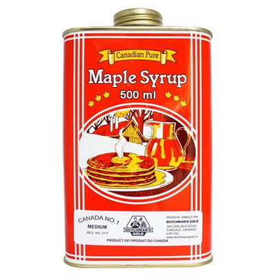 Dutchman's Gold Maple Syrup - 500 ml - Metal Can