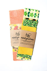 Mind Your Bees Beeswax Food Wrap - Variety Pack