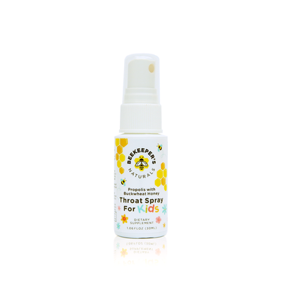 Beekeeper's Naturals Kids Propolis Throat Spray 30 ml
