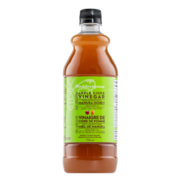Apple Cider Vinegar with Manuka Honey - 750 ml