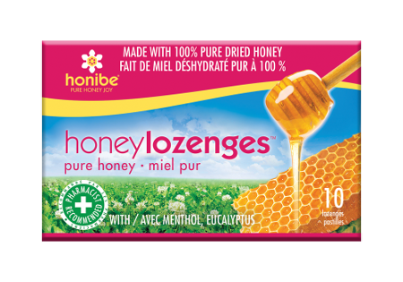 Honibe Honey Lozenges Original