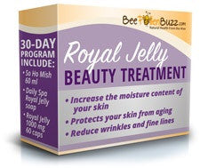 Royal Jelly Beauty Treatment with Fresh Royal Jelly