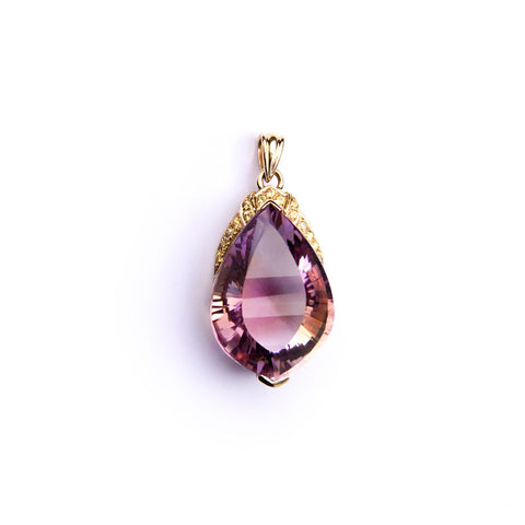 Amethyst in 9ct Gold