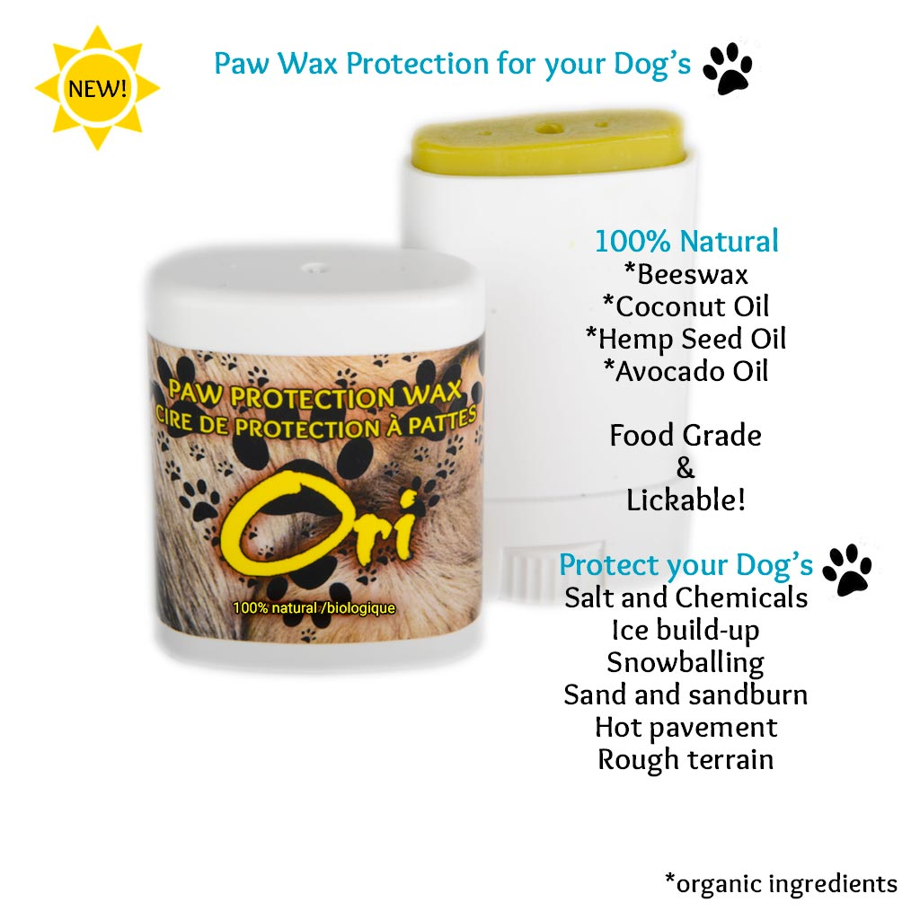 Ori's -  PAW PROTECTION WAX - 100% Natural Ingredients