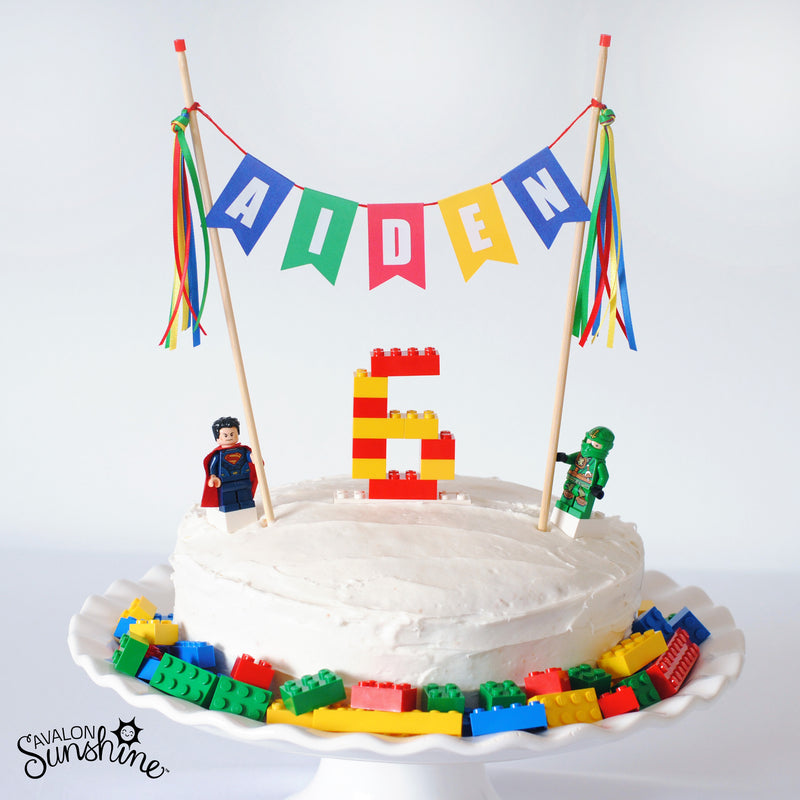 Cake Gallery:  Super-Simple Lego Birthday Cake