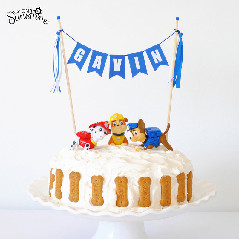 Toys on Cakes - Paw Patrol