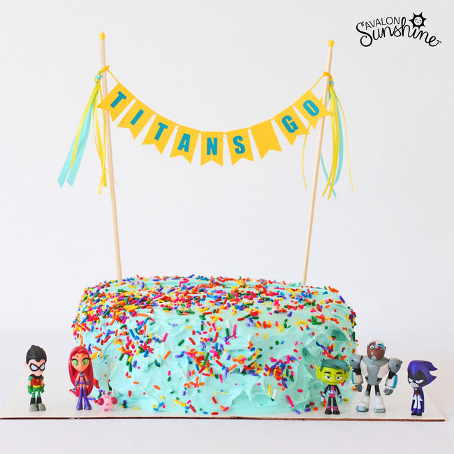 Cake Gallery:  Action Figures & More Sprinkles