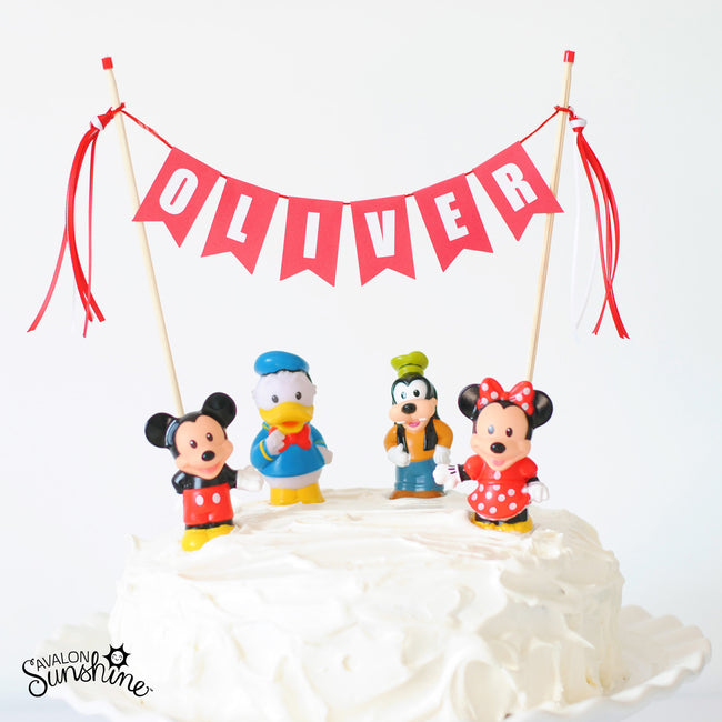 Toys on Cakes - Mickey Mouse