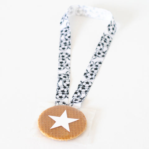 DIY Gold medal for kids party