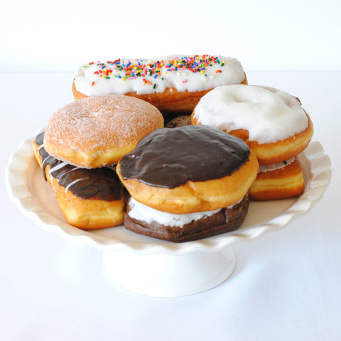 Donuts for birthday donut cake