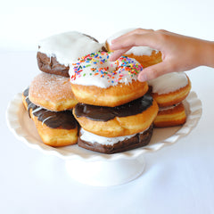 Donuts for donut birthday cake