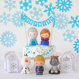 Frozen Birthday Cake Idea - Toys on Cakes personalized name cake topper