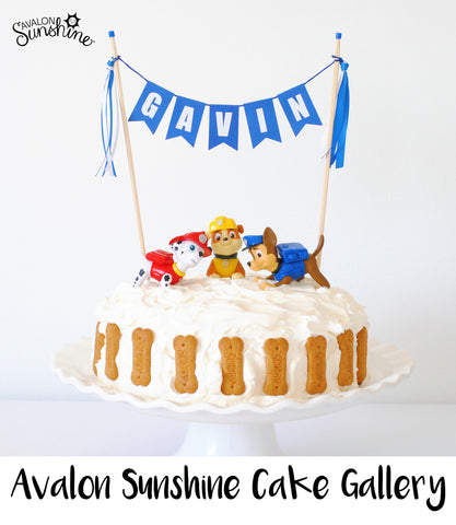 Toys On Cakes Paw Patrol Avalon Sunshine