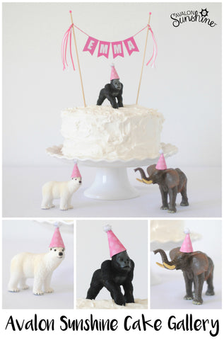 Avalon Sunshine Cake Toppers Make It So Easy To Decorate Any Cakehomemade