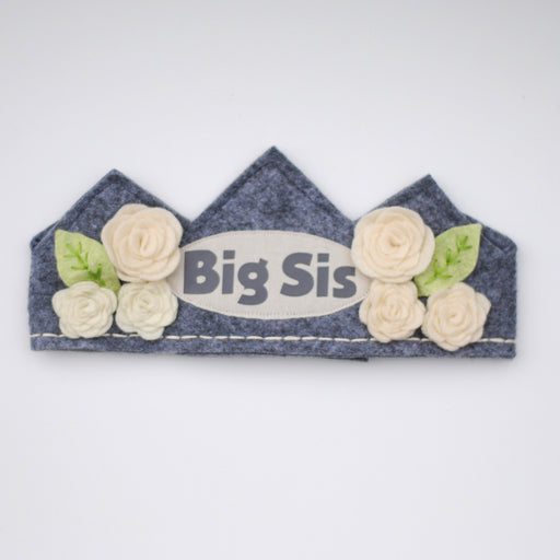 Big Sis Flower Crown