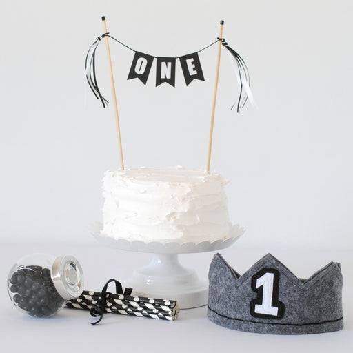 1st Birthday Set - Black and White