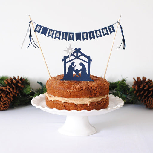 Nativity Cake Topper