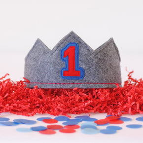 1st Birthday Crown for Boys