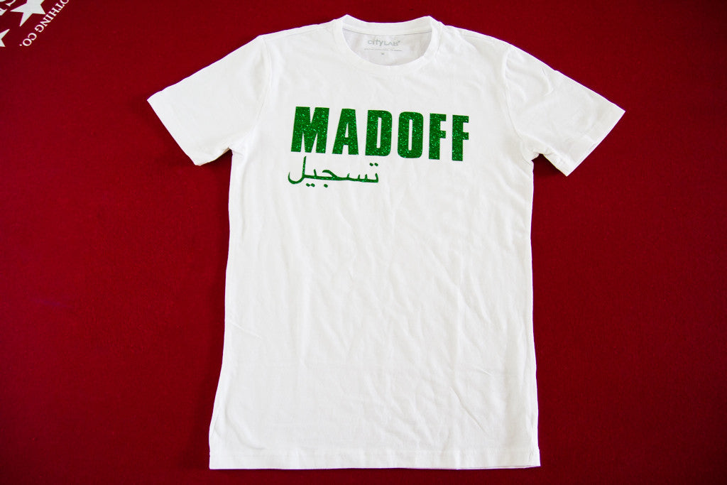 Madoff Short Sleeve Tee [White/Green]