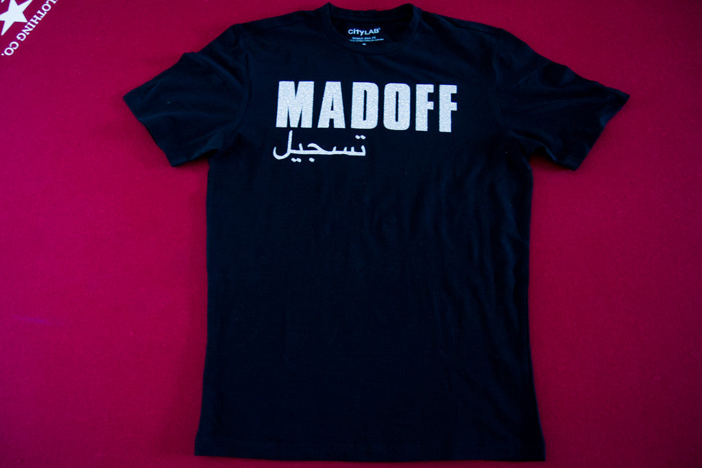 Madoff Short Sleeve Tee [Black/Silver]