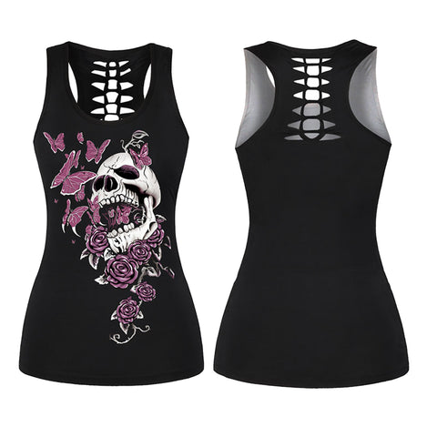 Death By Butterfly Ladies Vest