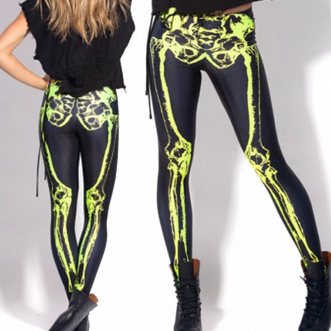 Glow in the Dark Bones Leggings