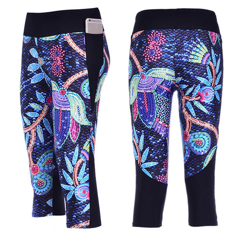 Natures Paradise Cropped Leggings