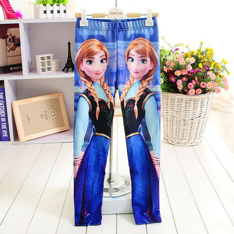 Princess Anna Kids Leggings