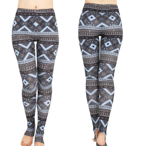 Rustic Blues Leggings
