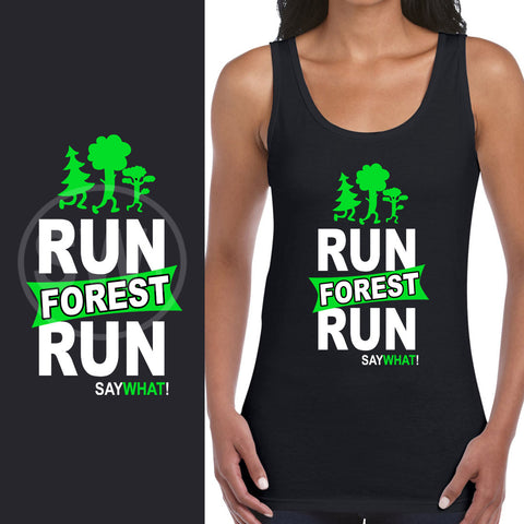 SayWhat! Run Forest Ladies Vest
