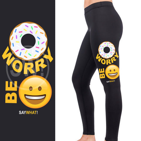 Donut Worry Full Length Leggings