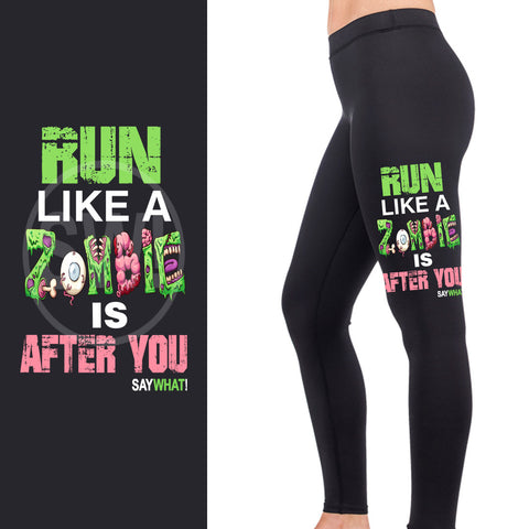 SayWhat! Zombie Full Length Leggings
