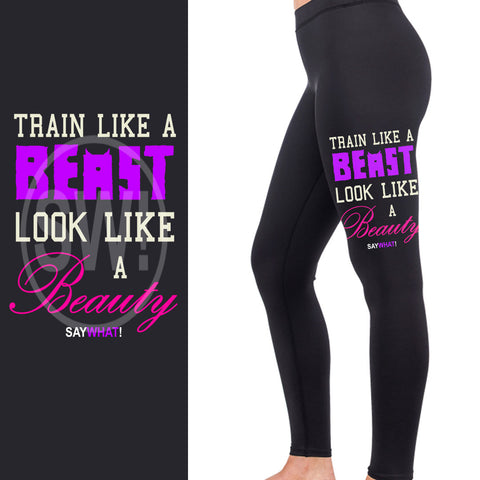 Beast & Beauty Full Length Leggings