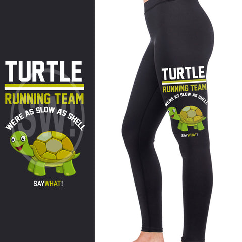 Turtle Running Team Full Length Leggings