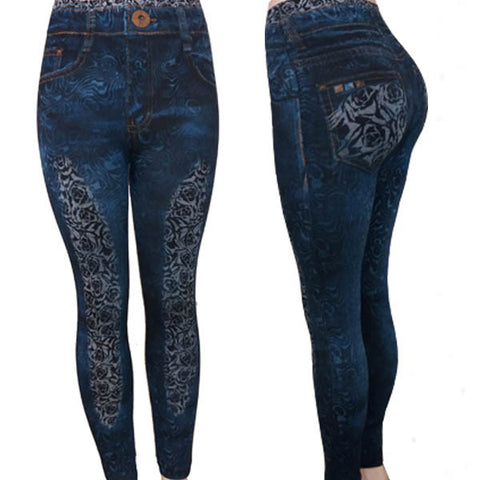 Wild Roses Jeggings