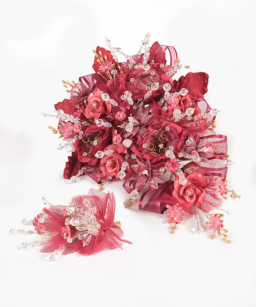 Angelas Quinceaera Artificial Flower Bouquet Quincenecessities