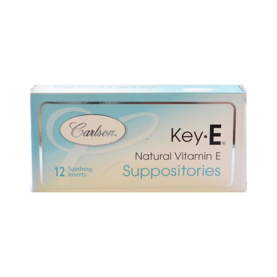 Key E Suppositories Box of 12 inserts