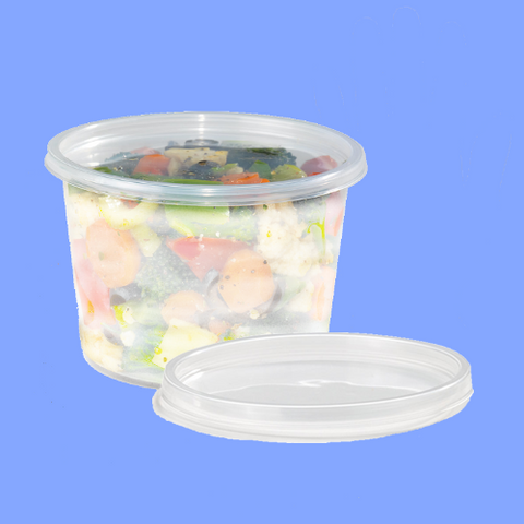 105296 - CLEAR LID FOR 8, 16, 32 OZ DELI CONTAINERS