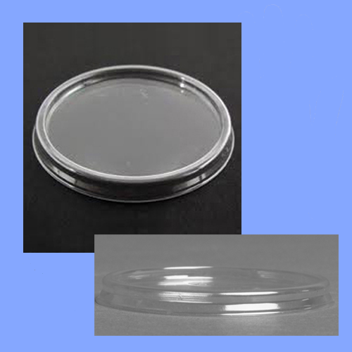 12CL - CLEAR LID FOR WHITE FOAM CONTAINER 8SJ12