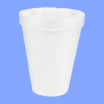 12J12 - 12 OZ WHITE FOAM CUPS