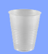 12SN - 12 OZ TRANSLUCENT PLASTIC CUPS