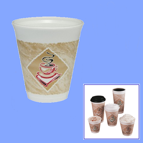 12X16 - 12 OZ FOAM CAFE CUPS