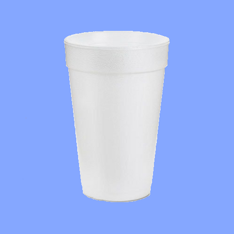 16J16 - 16 OZ WHITE FOAM CUPS