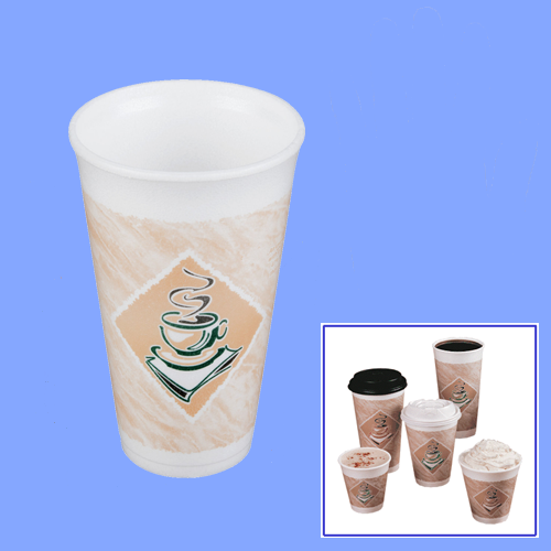 16X16 - 16 OZ FOAM CAFE CUPS