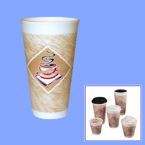 20X16 - 20 OZ FOAM CAFE CUPS