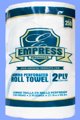 212250 - WHITE KITCHEN ROLL TOWELS