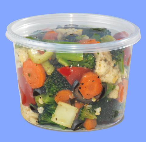 22371 - 16 OZ CLEAR DELI CONTAINERS