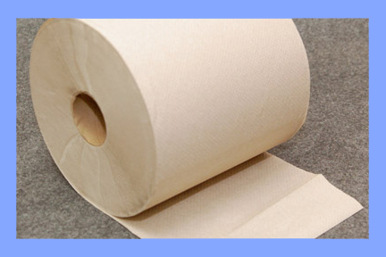 "22600 - BROWN ROLL TOWELS - 8"" X 800'"