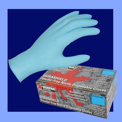 6001XL - NITRILE GLOVES